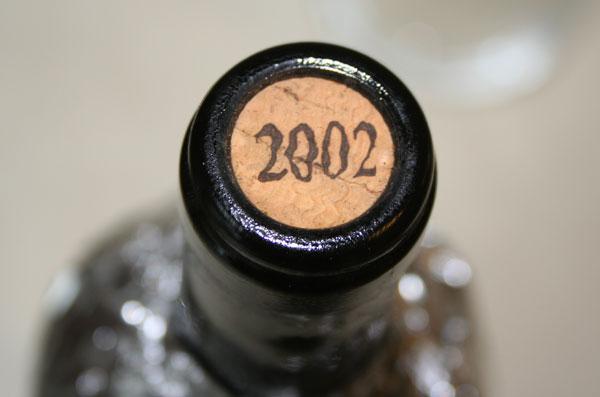 L' annata 2002