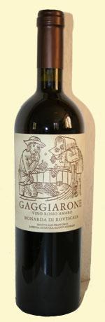 bottiglia di Gaggiarone di Annibale Alziati