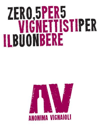 copertina del libretto anonima vignaioli