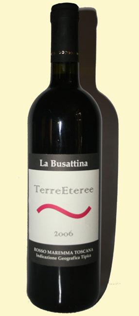 bottiglia di Terreeteree 2006 - la Busattina