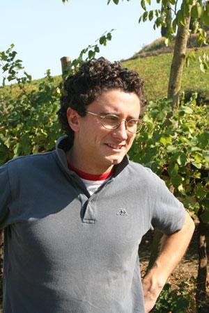 alberto masini dell'azienda vitivinicola ca de noci - vino biologico reggio emilia