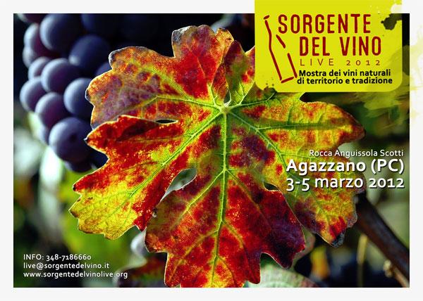 Sorgentedelvino Live 2012 al Castello di Agazzano