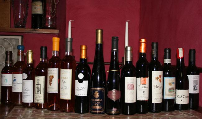Vini passiti e vinsanti in degustazione