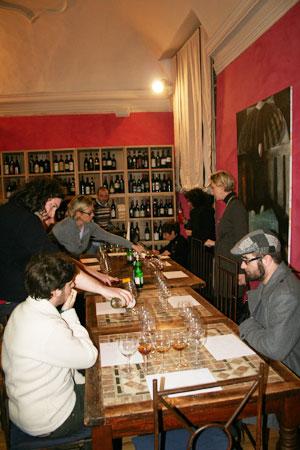 degustazione vini passiti e vini dolci