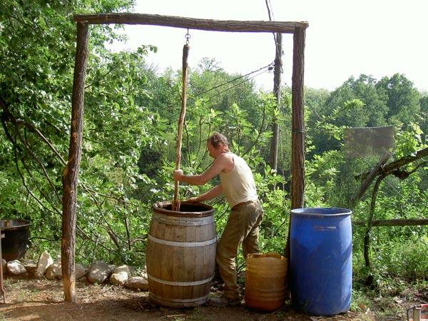 cascina degli ulivi - dinamizzazione preparati biodinamici