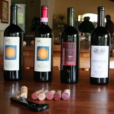 Le bottiglie di dolcetto di San Fereolo, Lo Zerbone e altri
