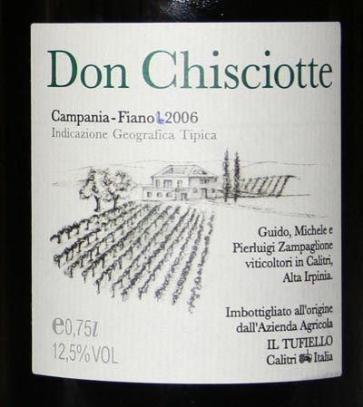 Don Chisciotte 2006 del Tufiello