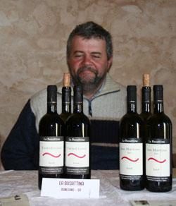 emilio falcione - la busattina vino biodinamico di toscana