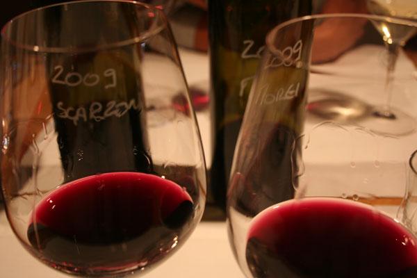 Due bicchieri di Teroldego di Elisabetta Foradori