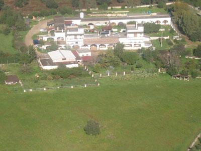 vista della comune urupia - azienda agricola biologica in salento - puglia