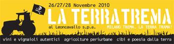 banner la terra trema - critical wine - milano 2010