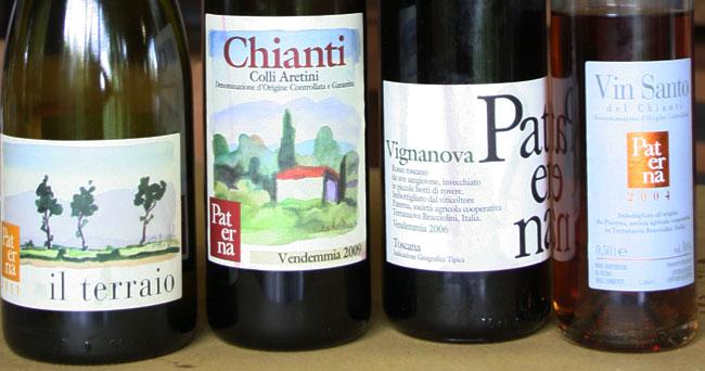 I vini di Paterna, Chianti colli aretini biologico