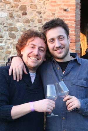 Andrea Gherri e Pietro Vergano del Ristorante Consorzio