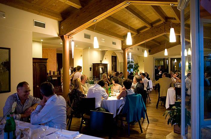 sala del ristorante la palta a bilegno (pc)