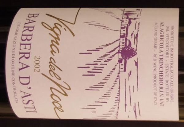Vigna del Noce 2002 Ezio Trinchero