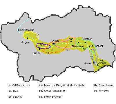 Le doc della valle d'aosta