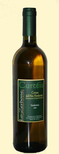 bottiglia di curteis 2006