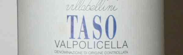 Taso, Valpolicella Classico Superiore 1998 - Villa Bellini