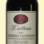 L'Attesa 2008 Barbera Valtidone - Gaetano Solenghi Azienda Agricola