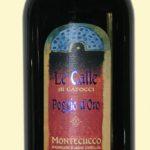 le-lecalle-poggio-doro-montecucco, vino biologico toscana
