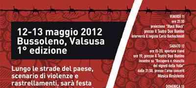 12 e 13 maggio Critical Wine a Bussoleno in Val Susa