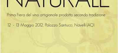 Il 12 e 13 maggio a Navelli apre Naturale prima fiera dei vini naturali in Abruzzo