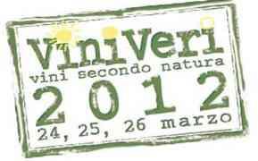 Dal 24 al 26 marzo 2012 i Vini Secondo Natura tornano a Cerea (VR)