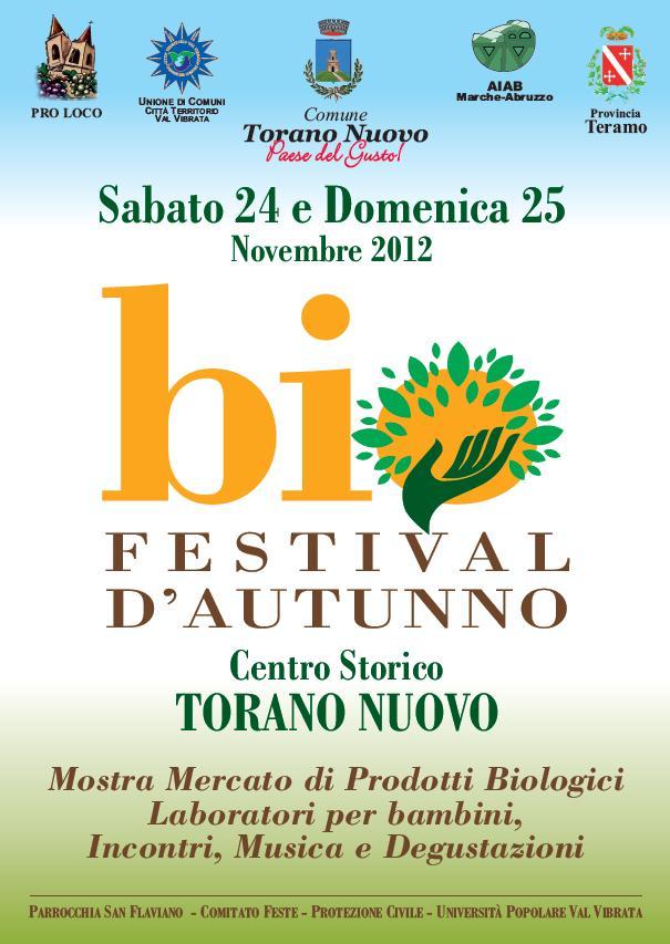 locandina biofestival torano (teramo - abruzzo)