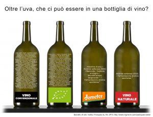 Ingredienti possibili nei vini convenzionali, biologici e naturali