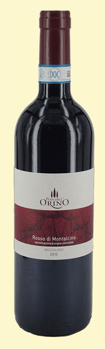 Rosso di Montalcino Pian dell' Orino2010