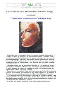 Mostra Roberto Renai 2014