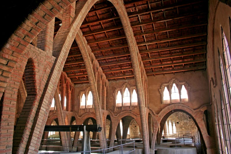 La cattedrale del vino di Pinell de Brai
