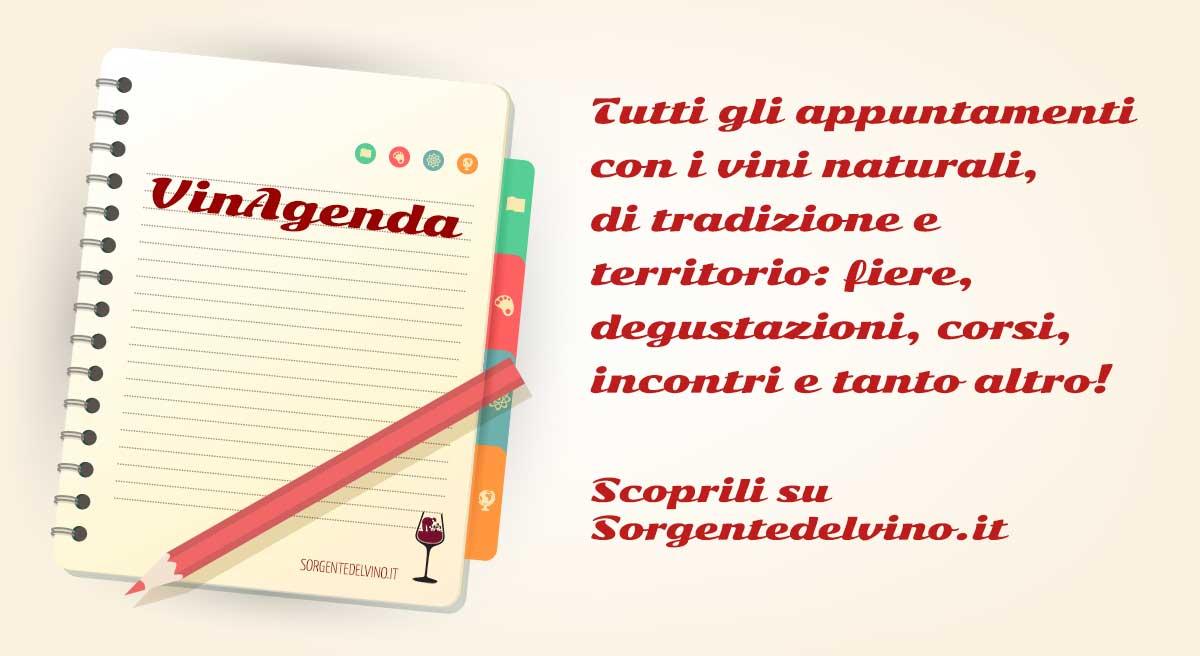 vinagenda, gli eventi dei vini naturali
