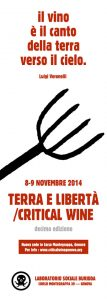 Genova Critical Wine 2014