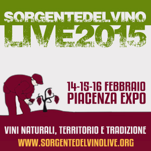 Sorgentedelvino LIVE 2015 vini naturali tradizione e territorio