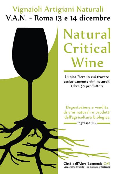 Natural Critical Wine Roma 2014