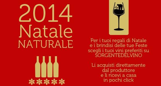 Offerte vini naturali natale 2014