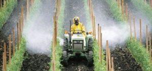 Distribuzione pesticidi