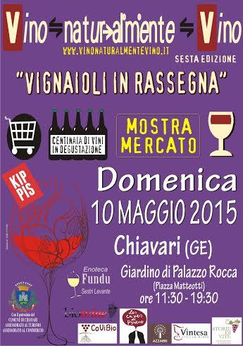 locandina vino naturalmente vino 2015