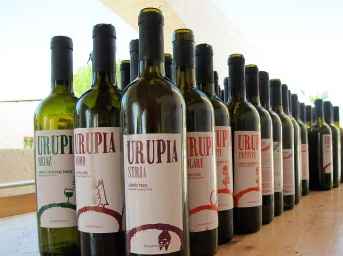 I vini di Comune Urupia - Puglia