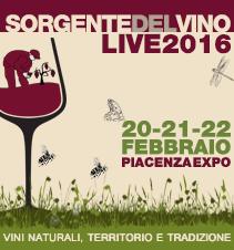 Sorgentedelvino LIVE 2016 vini naturali, tradizione e territorio