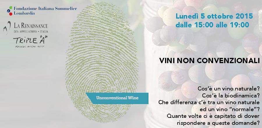 Vini non convenzionali - seminario a milano
