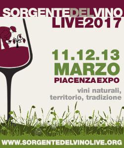 Sorgentedelvino LIVE 2017 vini naturali, tradizione e territorio