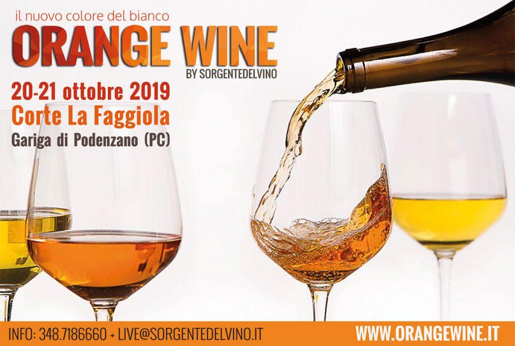 Orange Wine 2019: Piacenza Corte Faggiola