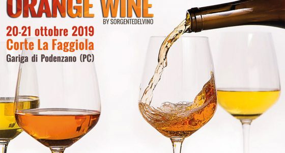 Orange Wine 2019: Piacenza Corte Faggiola