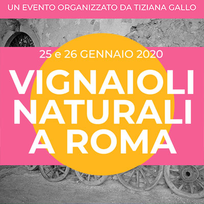 Vignaioli Naturali a Roma 2020